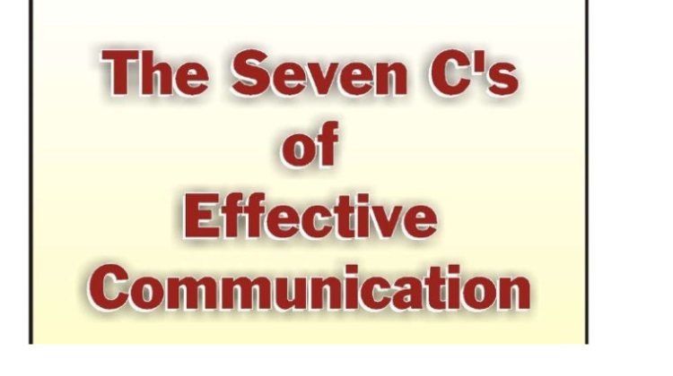 The 7CS of Communication