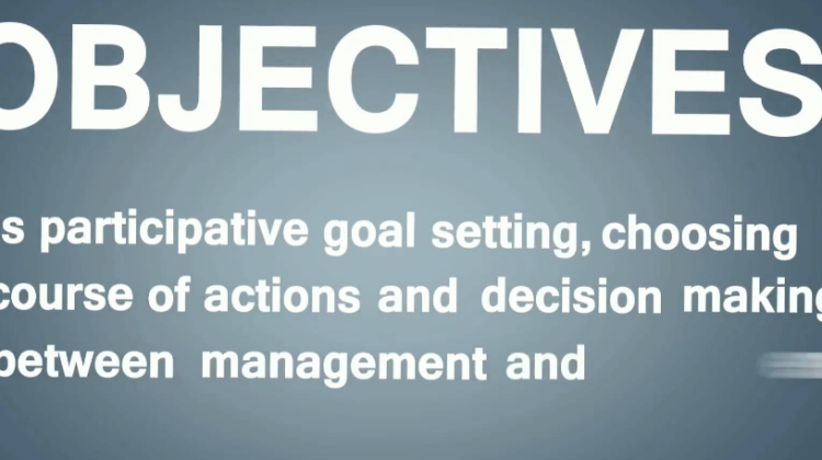 Management by Objectives and its Key Concepts