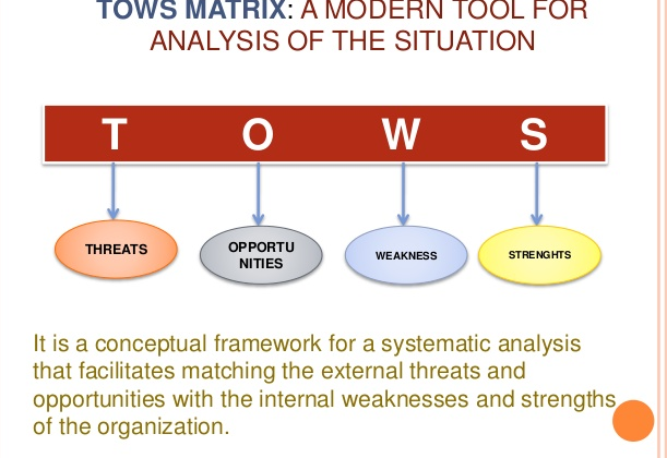 TOWS Matrix Analysis and Strategies