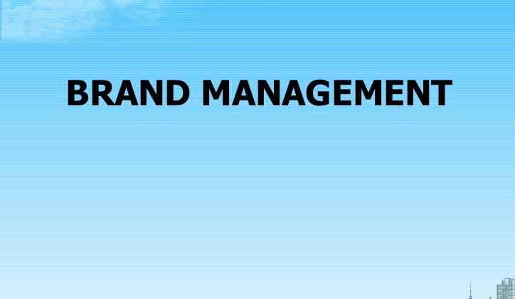 Brand Management – Ultimate Future of Business