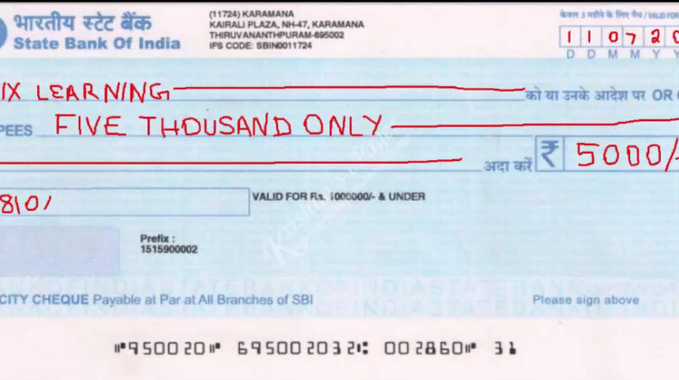Explain the Various Types of Cheque in Detail?