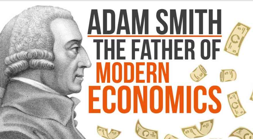 definitions of economics by adam smith Adam smith is known as the father of political economy for he was the first man to put all economic ideas in a systematic manner according to him, economics is the.