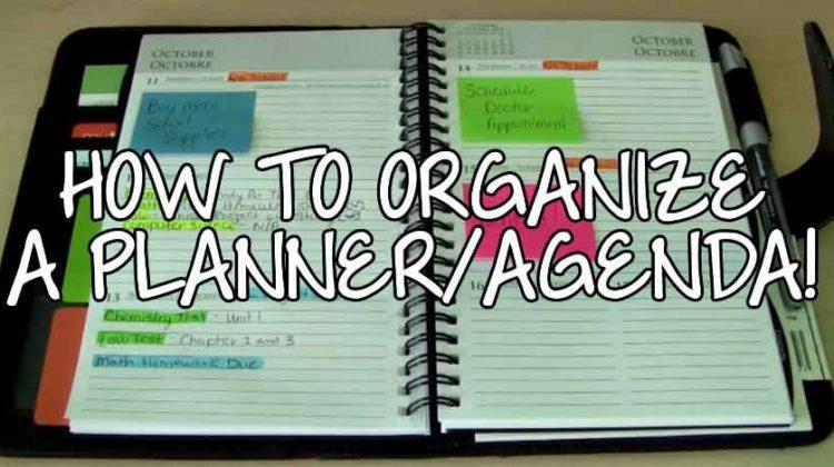 Agenda Organization Tips to Achieve more Productivity