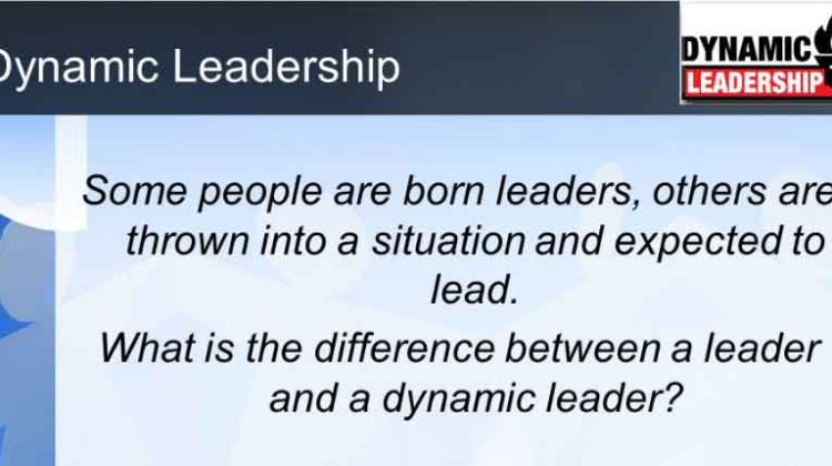 8 – Principles that a Dynamic Leadership must have