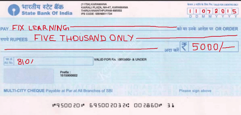 What is Cheque | Types of Cheque | Parties Involved in Cheque Types Of Human Communication